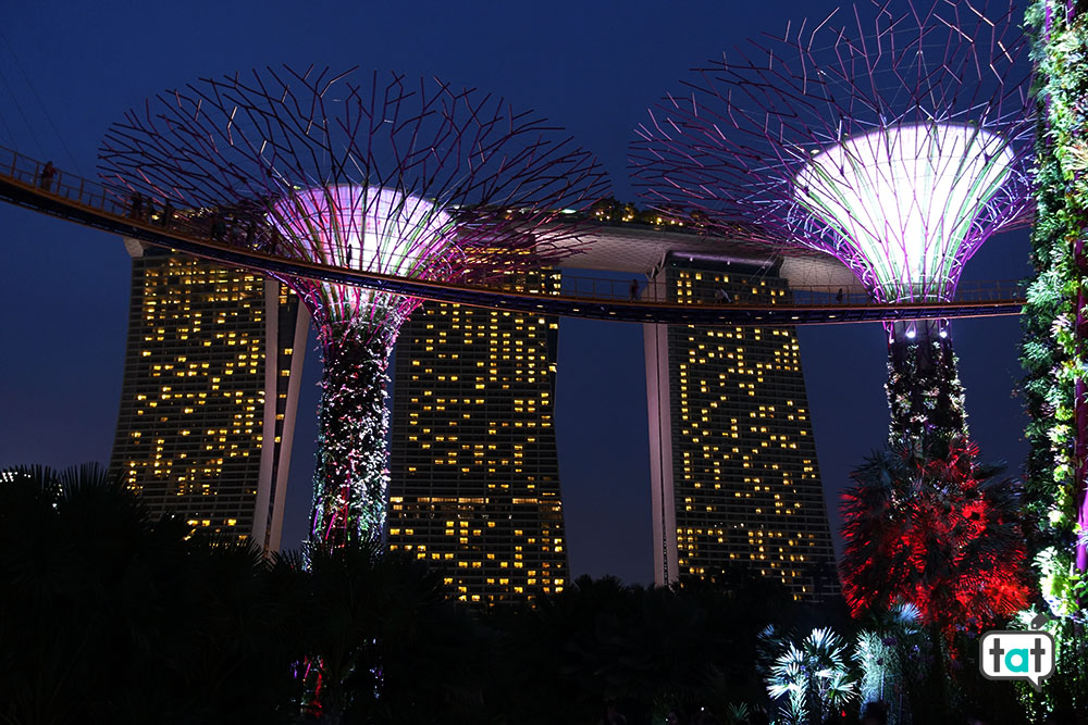 talk about travel indonesia singapore marina bay sands gardens by the bay