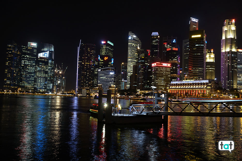 talk about travel singapore marina bay skyline