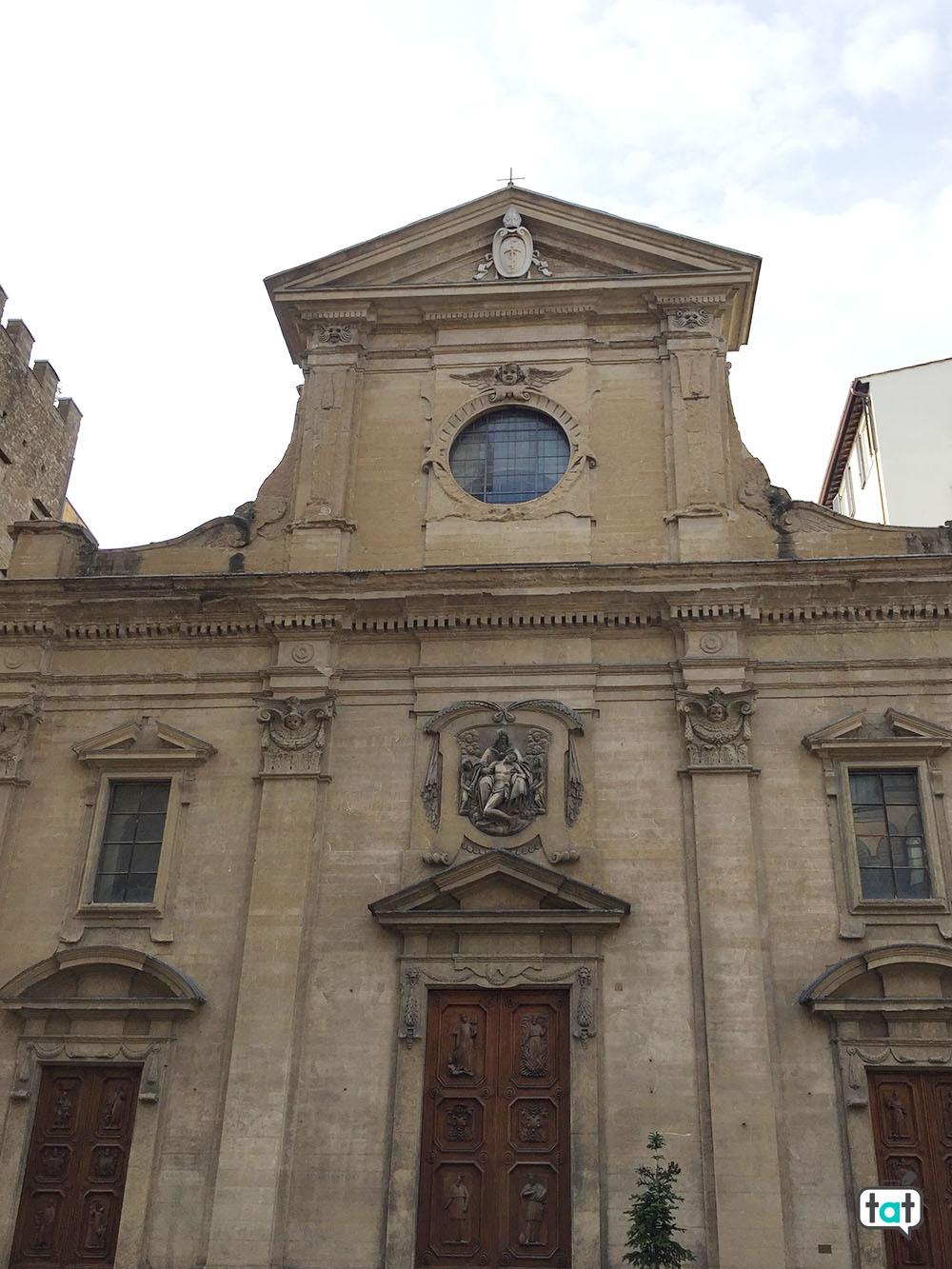 talk about travel firenze facciata santa trinita