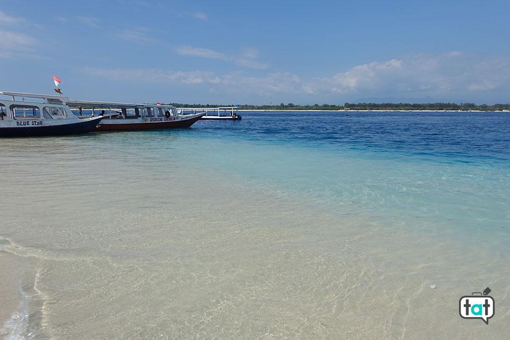 talk about travel gili trawagan spiaggia mare barche
