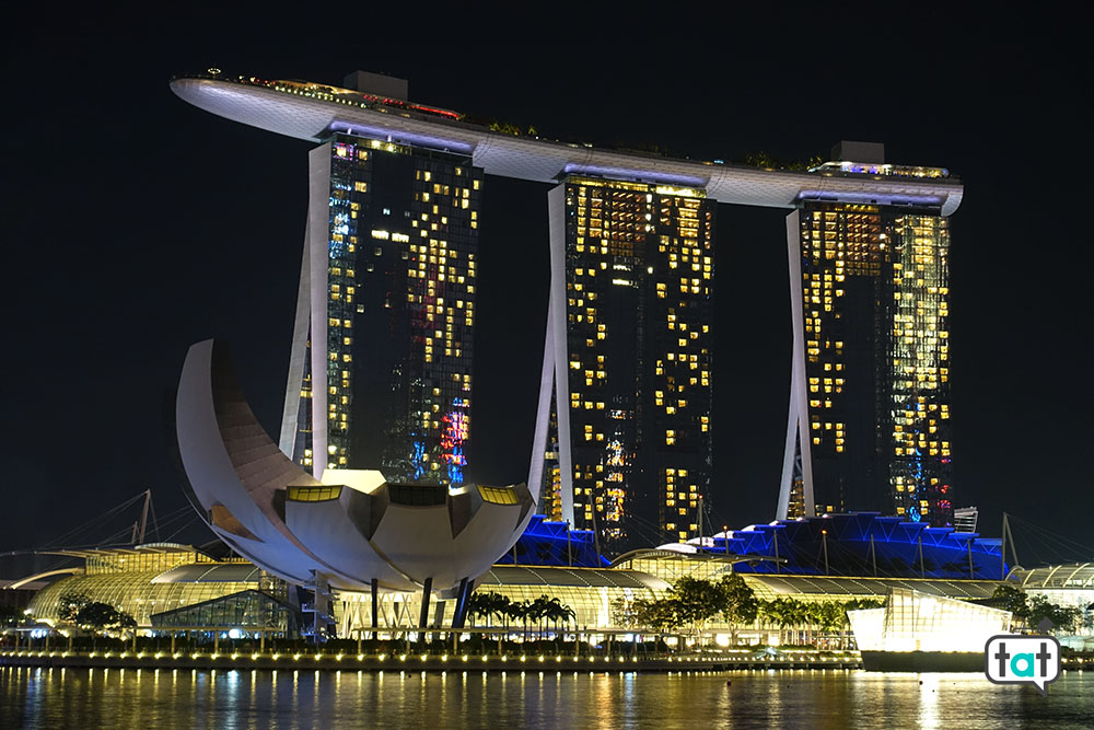 talk about travel singapore marina bay sands