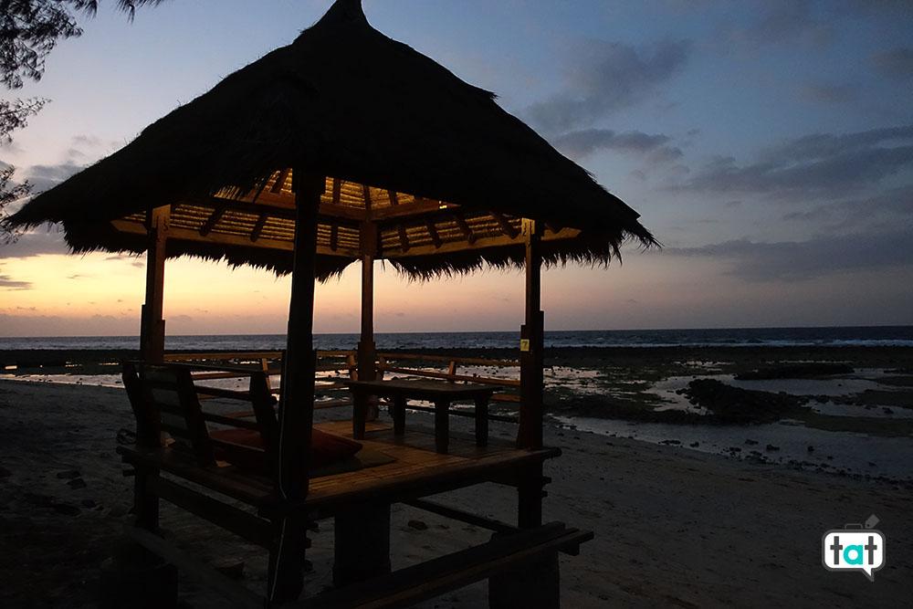 talk about travel gili trawagan spiaggia mare tramonto relax