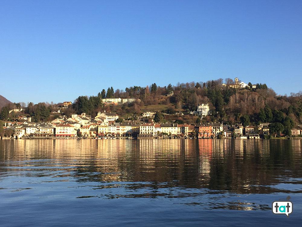 talk about travel lago d orta vista orta san giulio