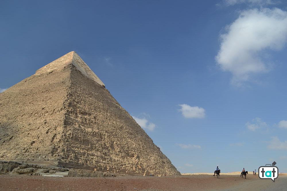 talk about travel egitto piana di giza piramide di chefren