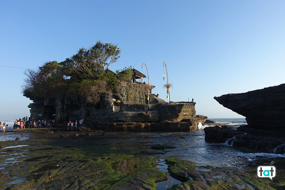 talk about travel indonesia bali tempio tanah lot