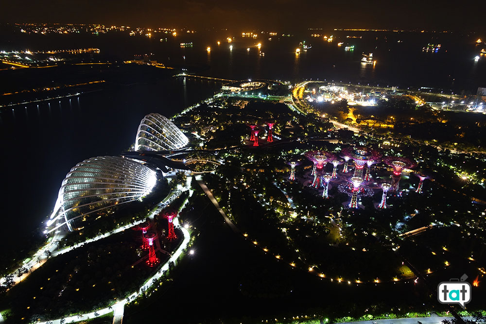 talk about travel singapore vista gardens by the bay