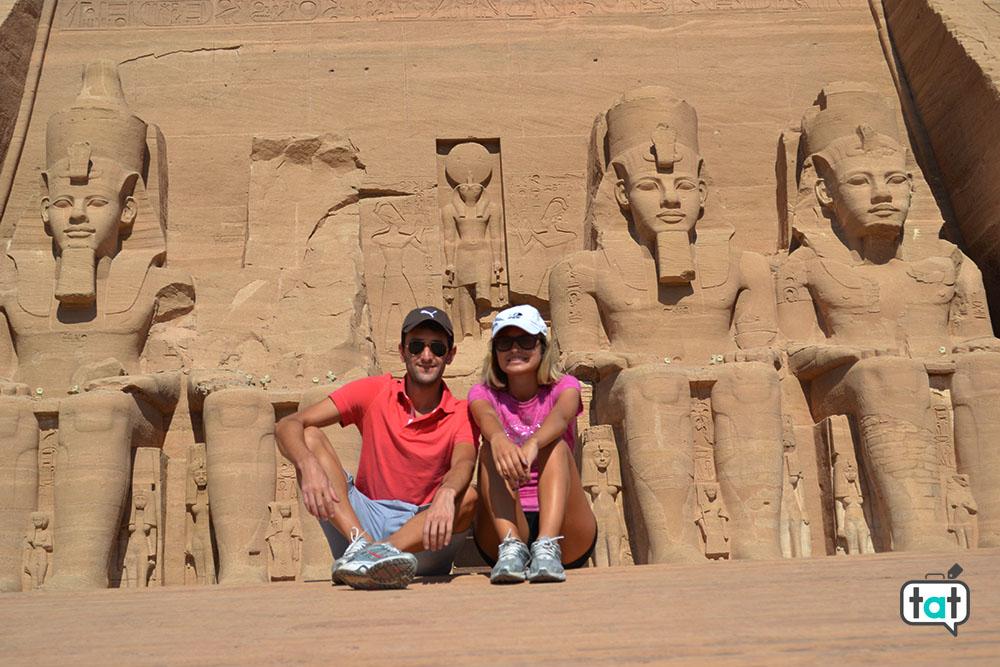 talk about travel egitto tempio di abu simbel facciata