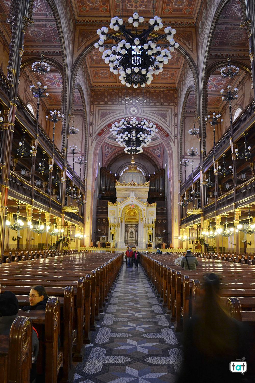 budapest sinagoga interna