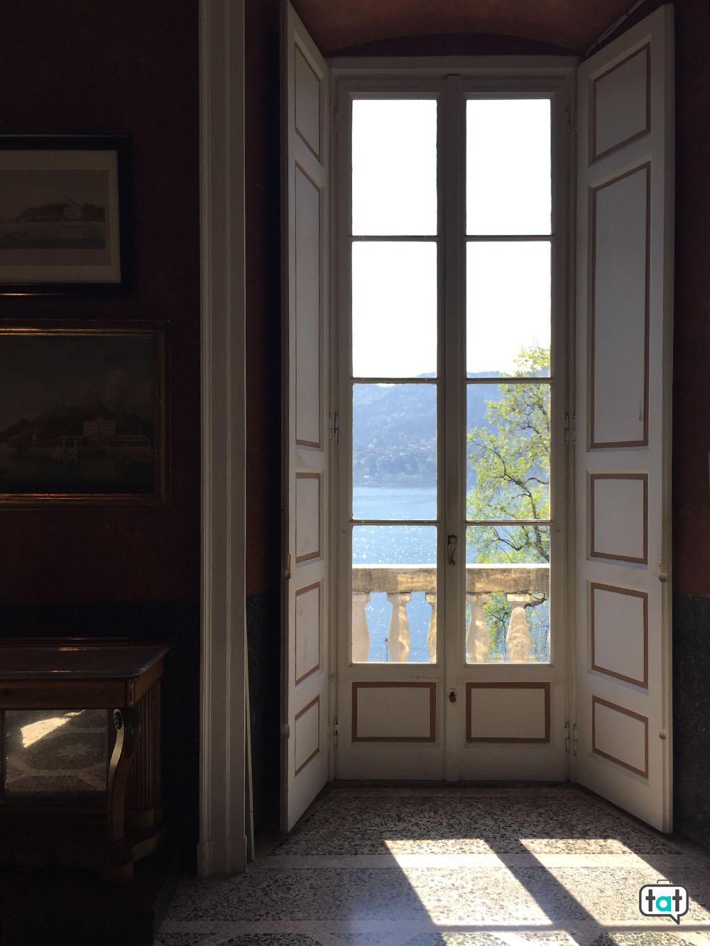 villa carlotta interno finestra