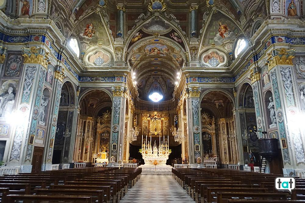 pietra ligure basilica interno