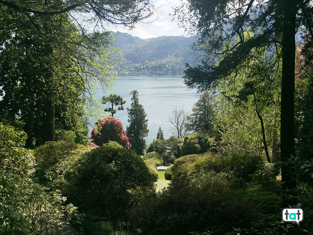 villa carlotta giardini botanici vista