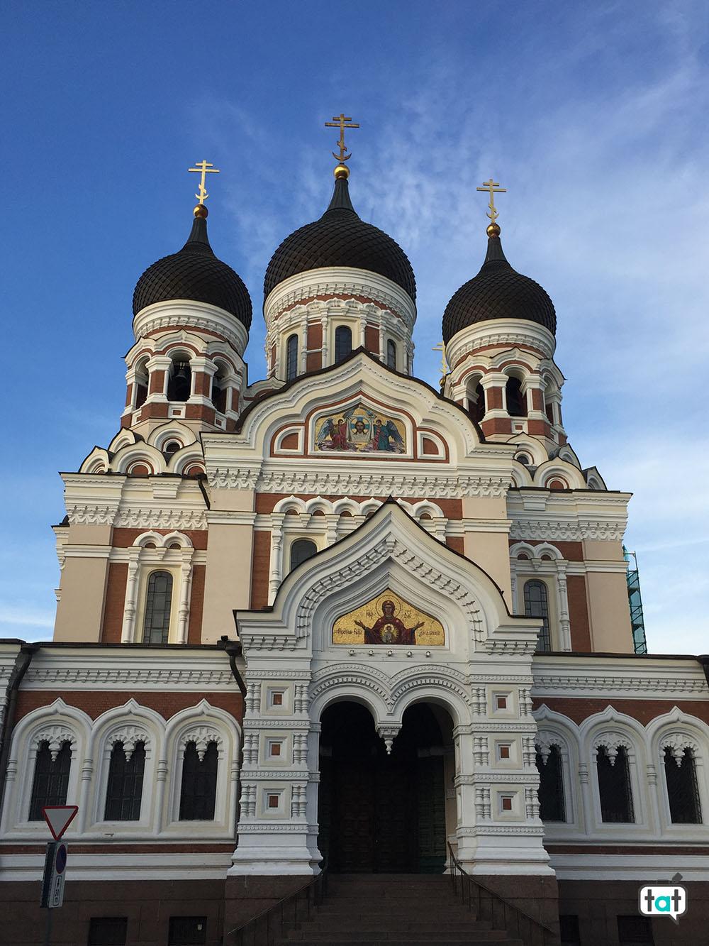 tallinn cattedrale aleksandr nevsky