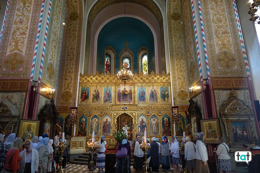 tallinn cattedrale aleksandr nevsky interno