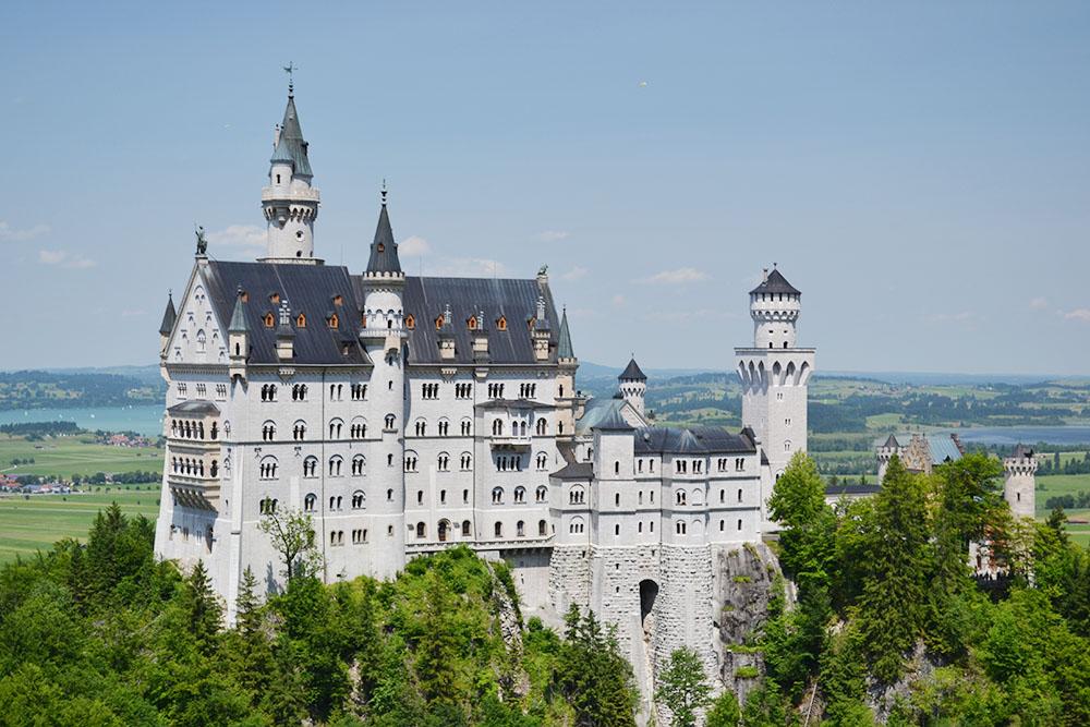 castello di neuschwanstein vista