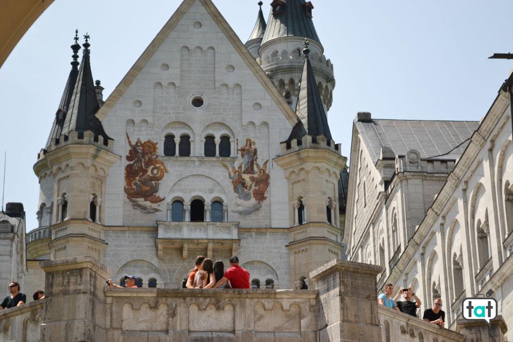 castello di neuschwanstein facciata