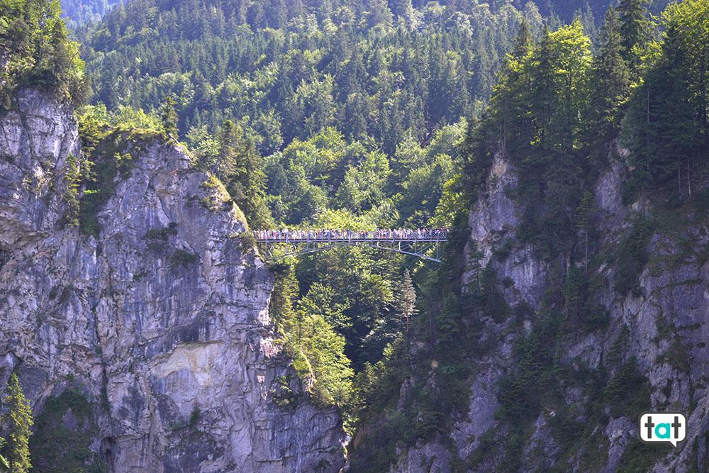 castello di neuschwanstein marienbrucke