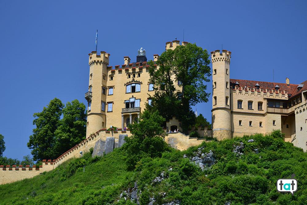 castello di hohenschwangau vista