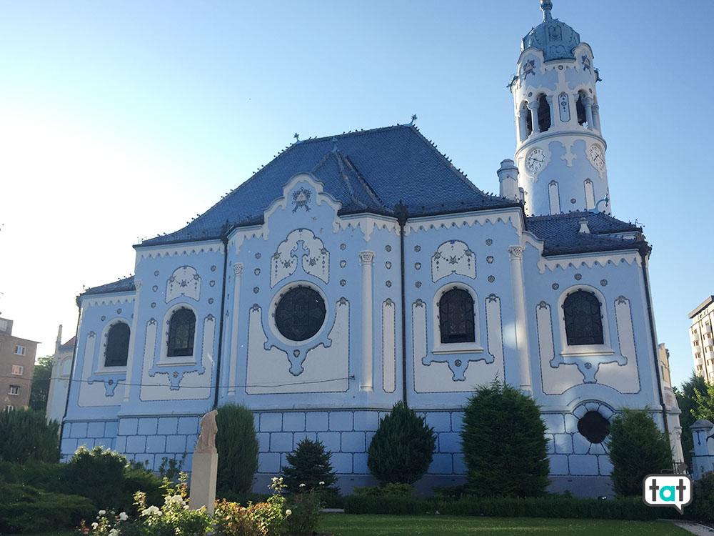 bratislava chiesa azzurra