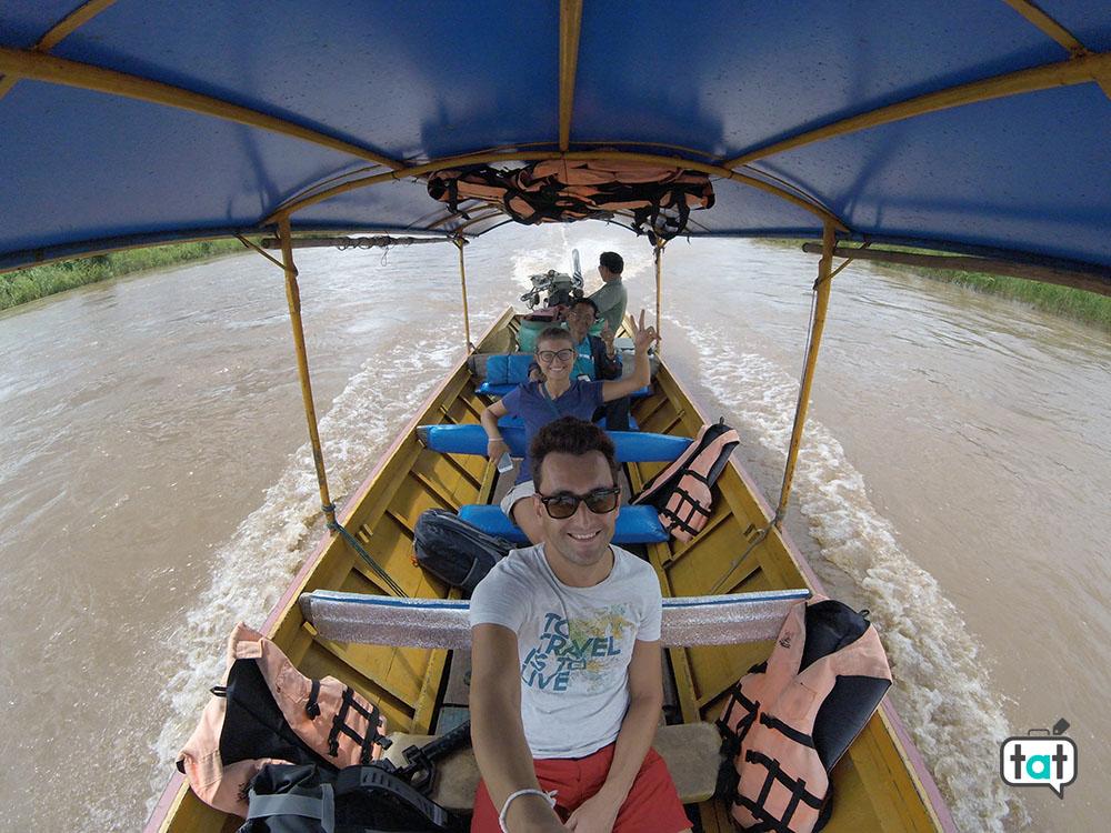 thailandia long tail boat