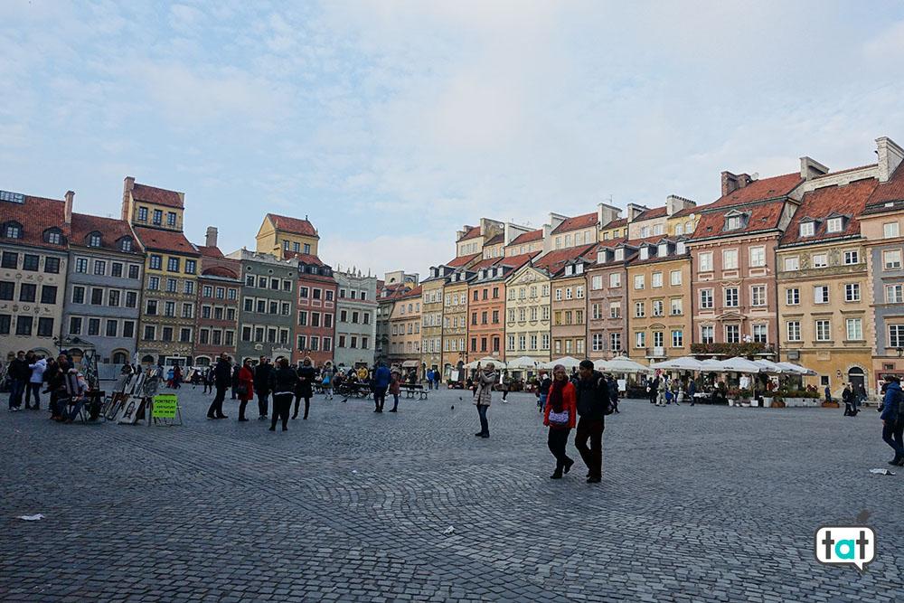 Varsavia piazza