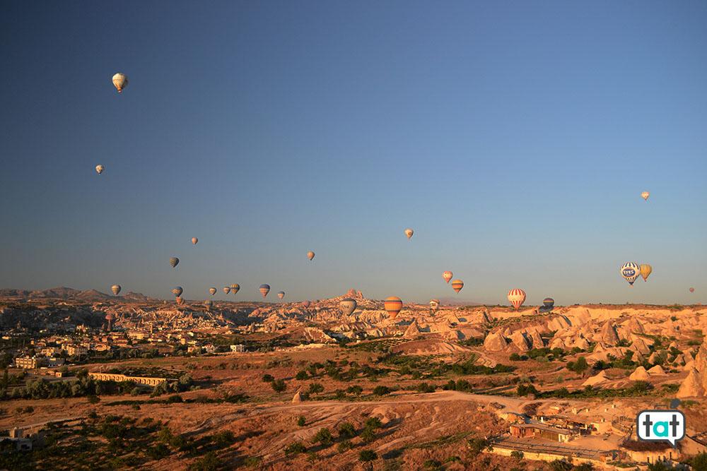 Panorama Mongolfiere