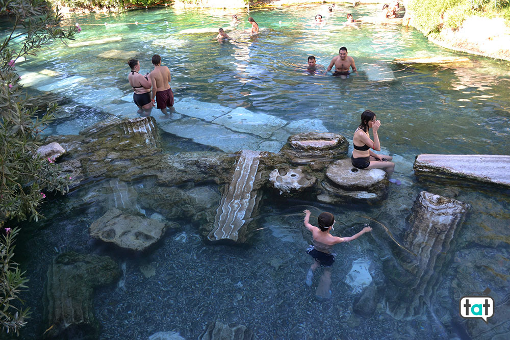 Turchia Pamukkale piscine