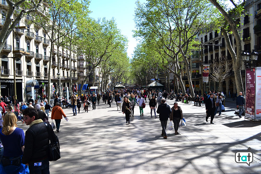 Barcellona La Rambla