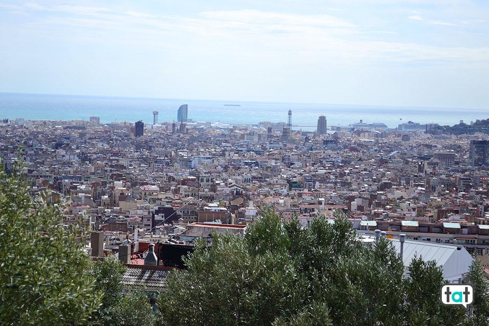 Barcellona vista Parc Guell
