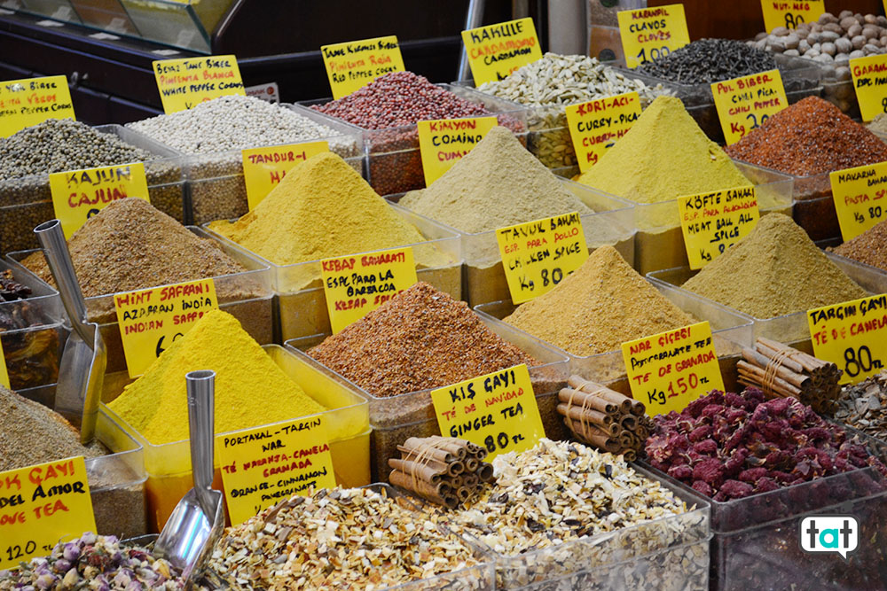 Istanbul bazar delle spezie