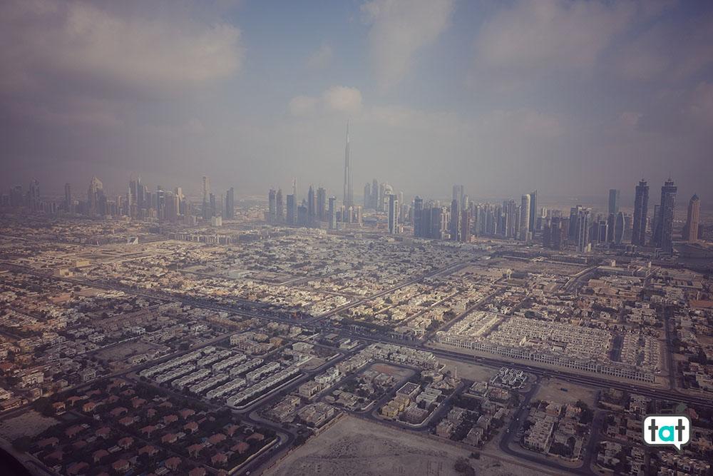 Dubai vista dall'alto