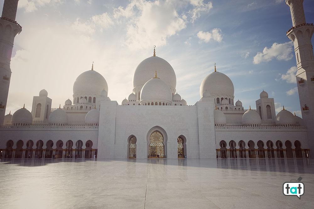 abu dhabi moschea zayed