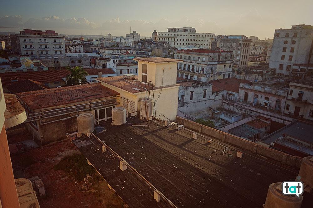 Cuba dalla terrazza