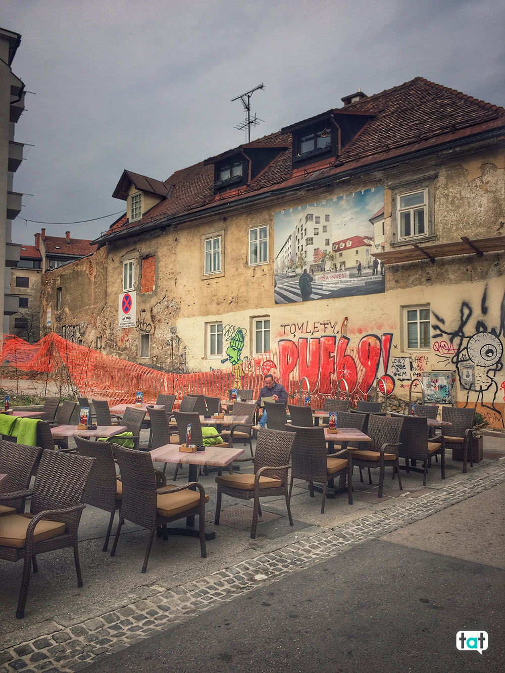 bar a Lubiana