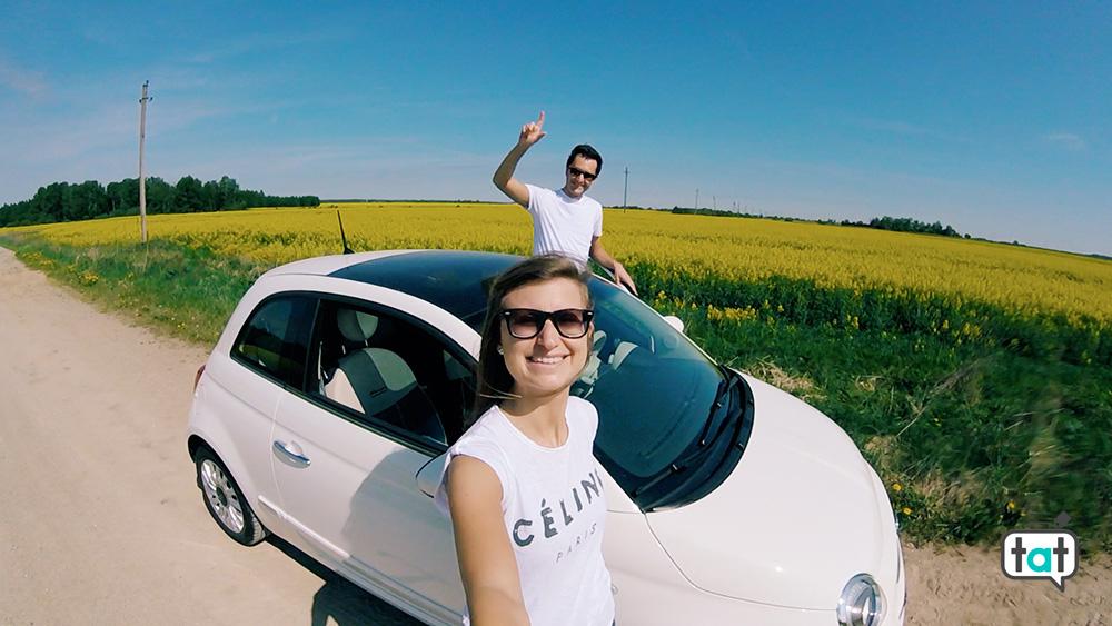 Vilnius in auto