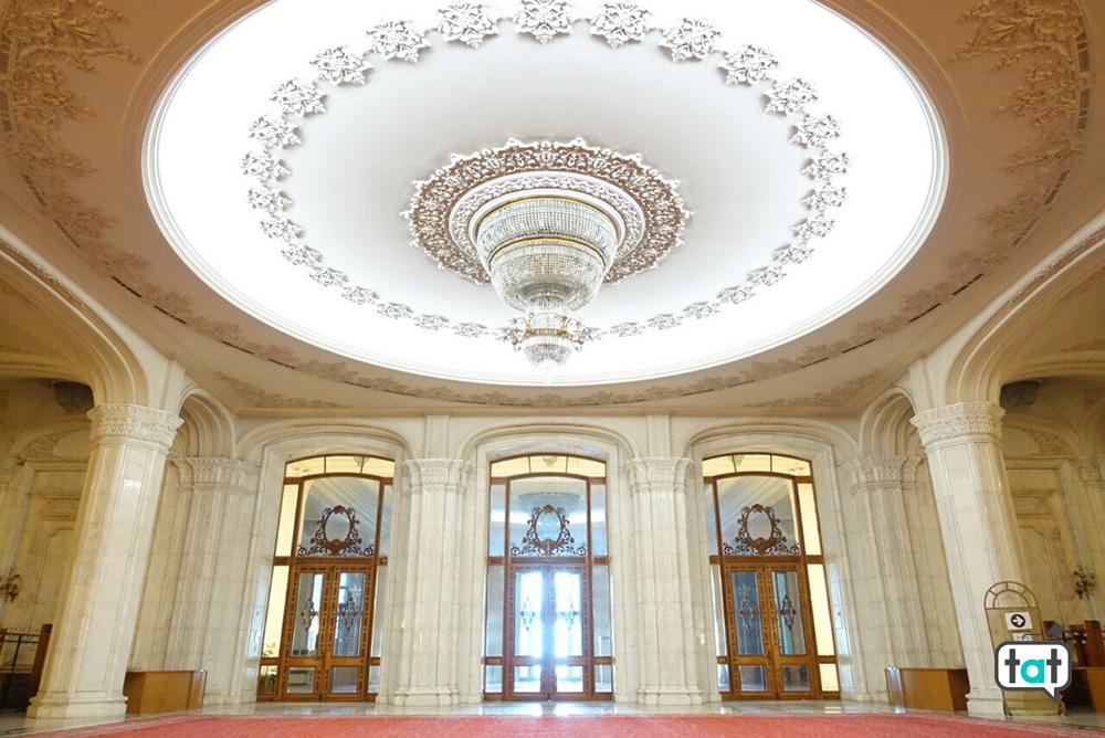 Interno Palazzo del parlamento