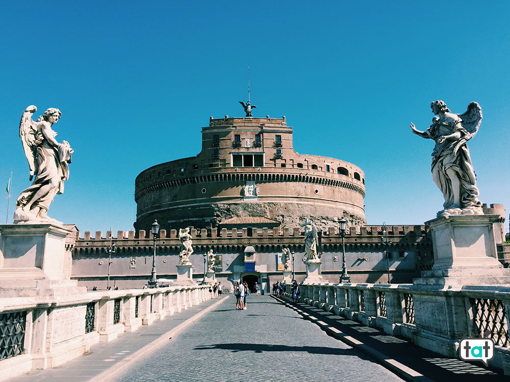 Castel Sant'Angelo dal ponte