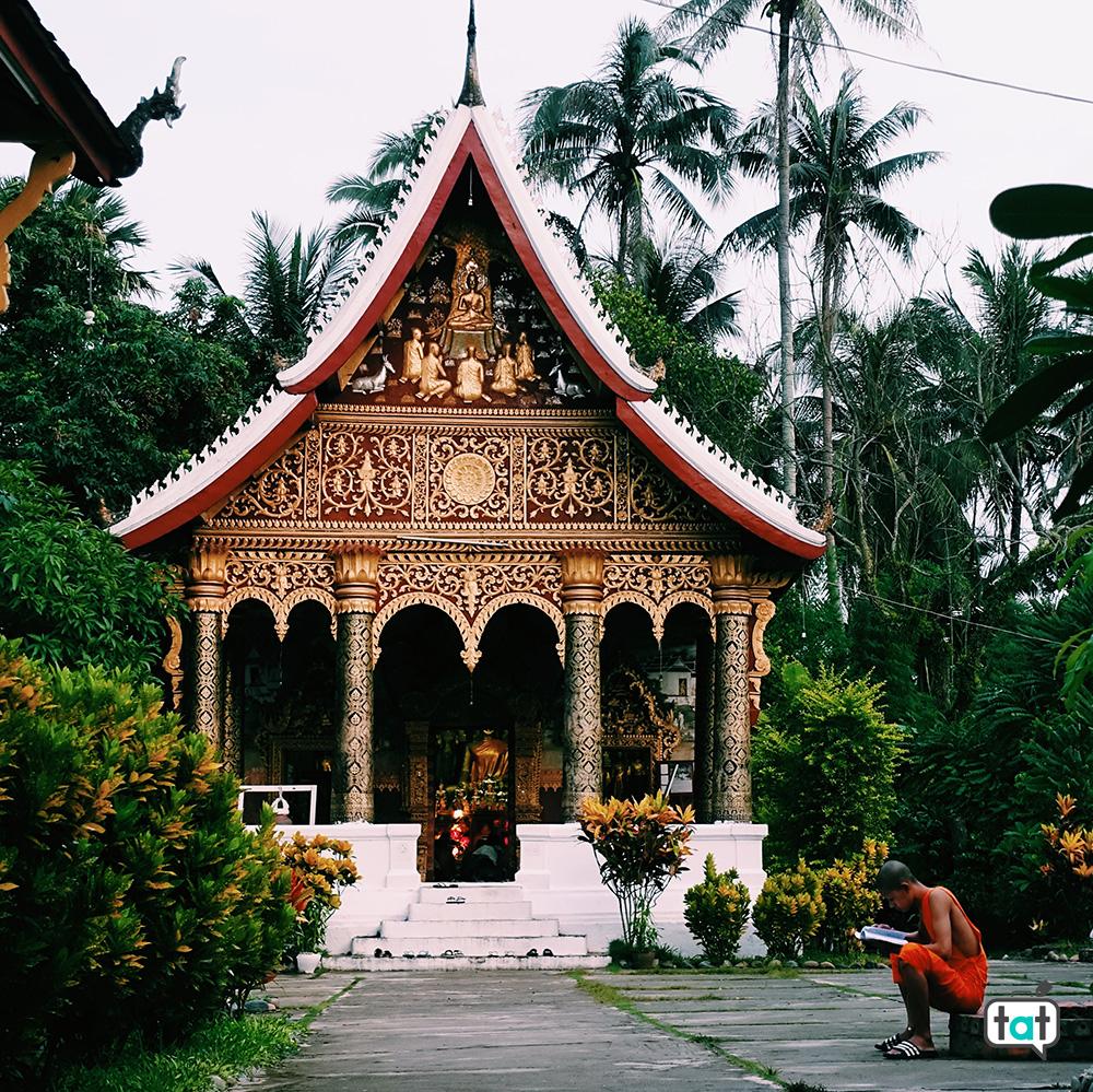 Luang Prabang e monaco