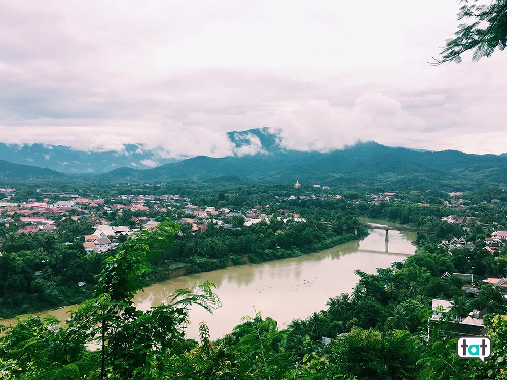 vista su Luang Prabang