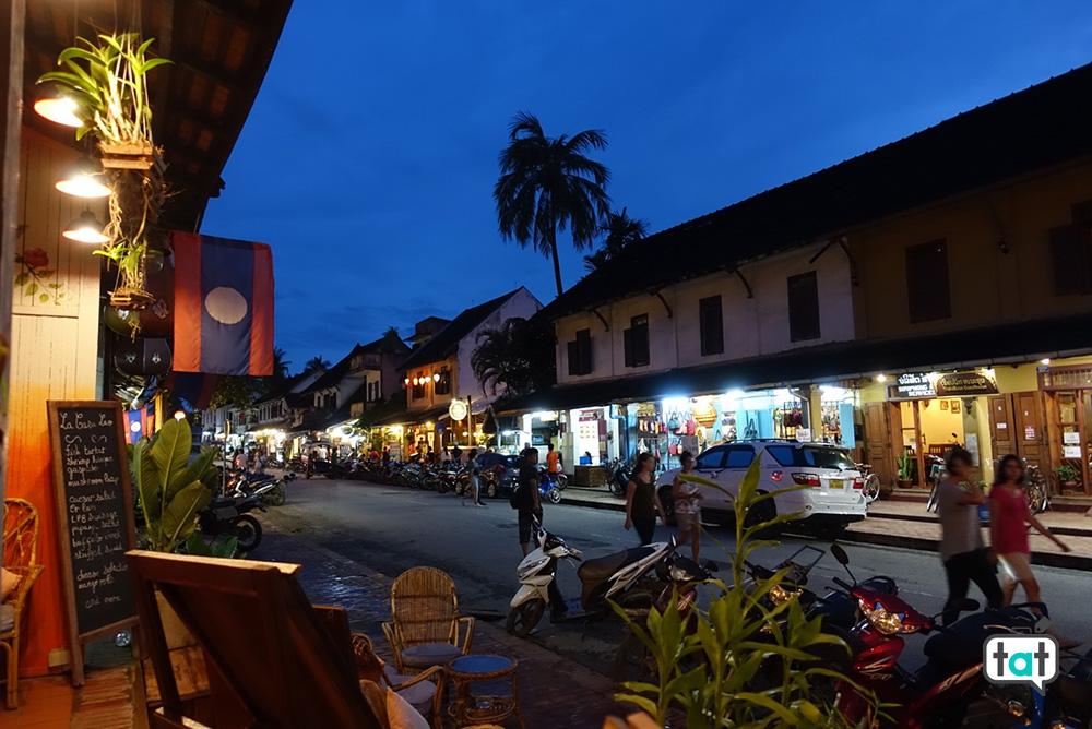 Luang Prabang di sera
