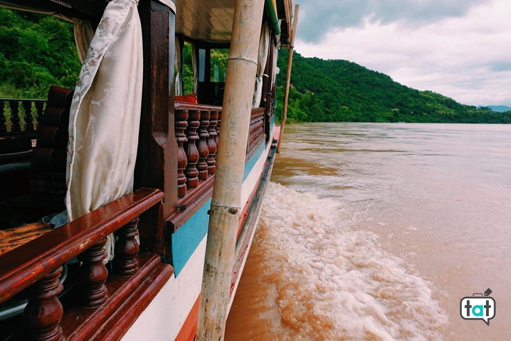 Barca sul mekong