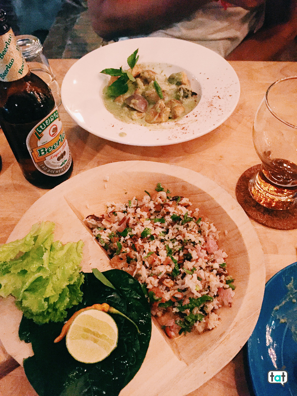 cibo in laos
