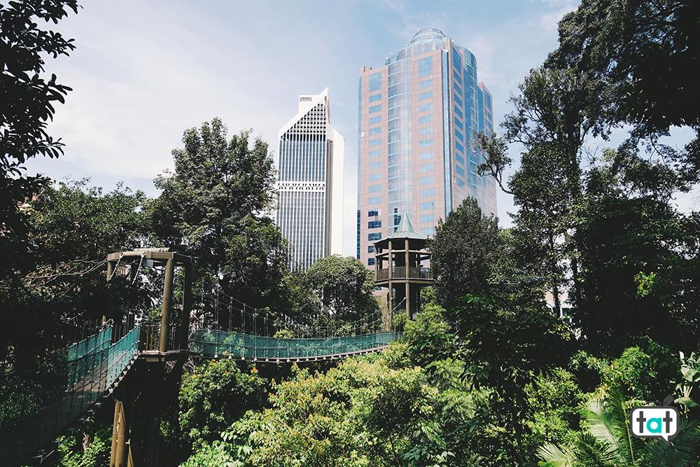 Kula Lumpur da Bukit Nanas