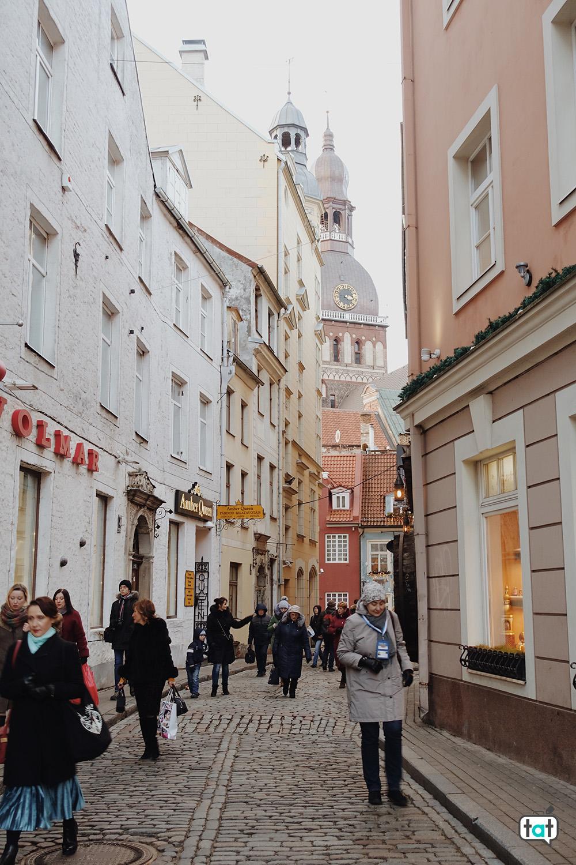 Riga d'inverno
