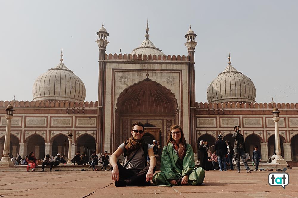 Jama Moschea Nuova Delhi