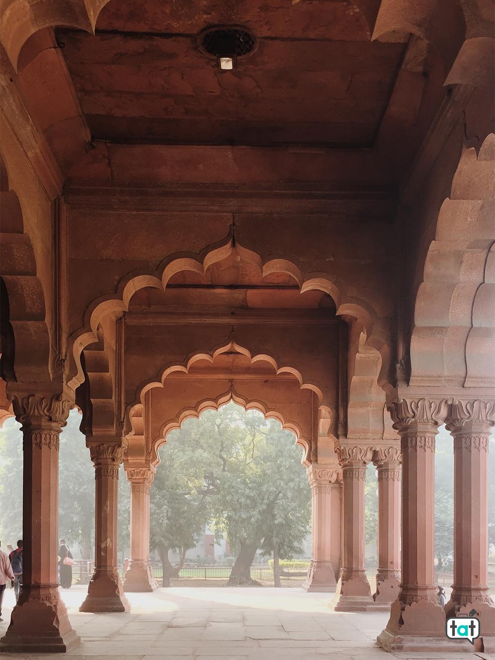 Archi forte rosso Delhi