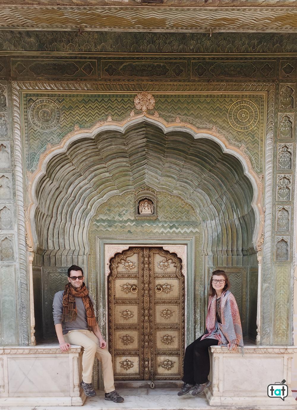 Porta del City Palace