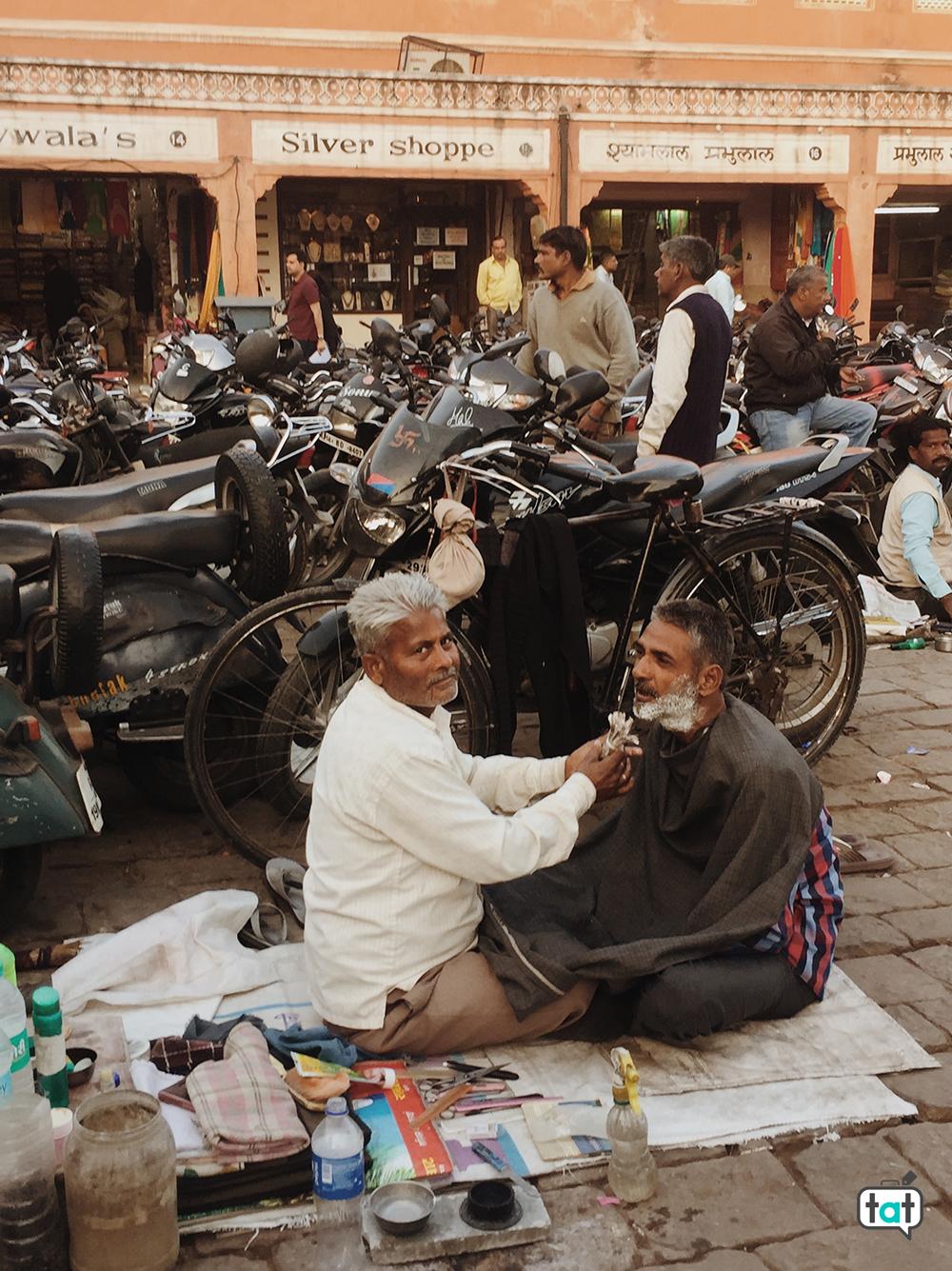 Barbiere a Jaipur