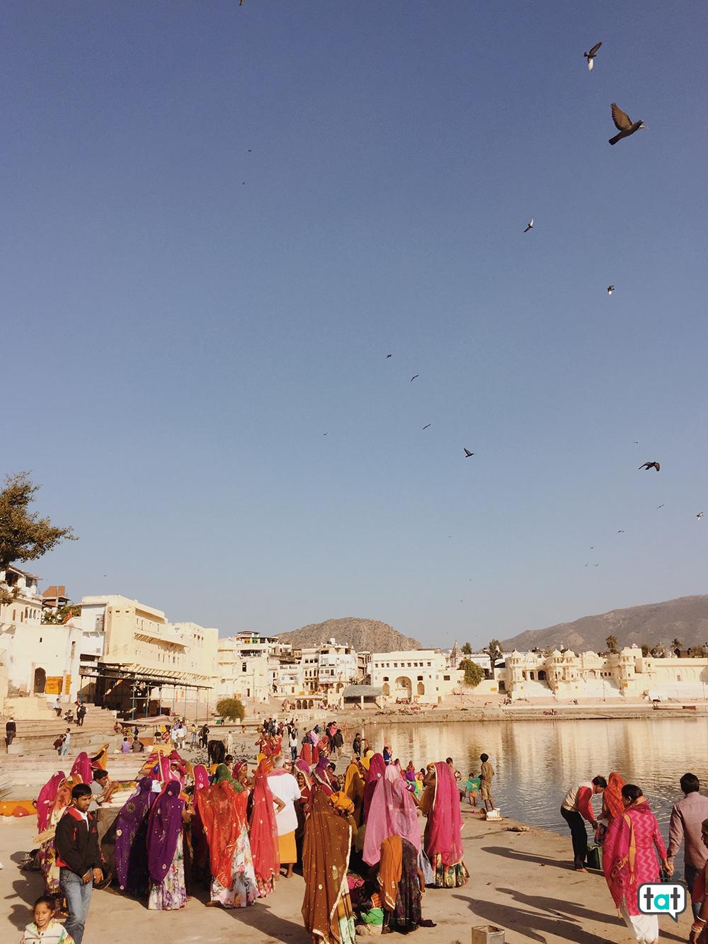 Persone a Pushkar