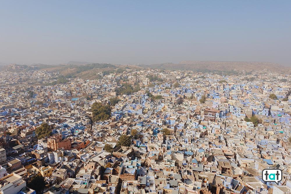 Vista dal Mehrangarh Fort