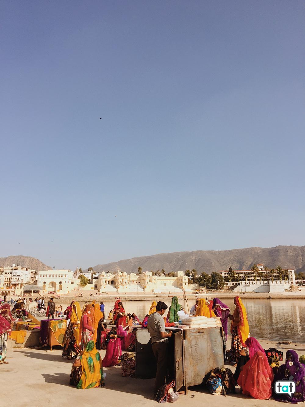 Puja a Pushkar